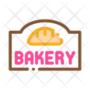 Bakery Bread Shop Icon
