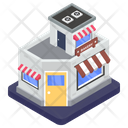 Marketplace Outlet Bakery Shop Icon