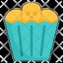 Bakery Skull Food Icon