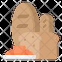 Bakery Croissant Bread Icon