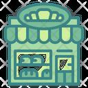 Bakery Shop Bread Icon