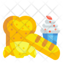 Bakery Product Bread Cake Icon