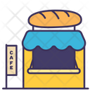 Bakery Shop Food Icon