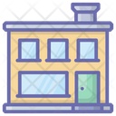 Bakery Shop Store Bakery Building Icon