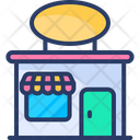 Bakery Shop Confectionery Bread Shop Icon