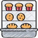 Bakery Stand Shop Baked Icon
