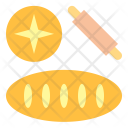 Bakery Baguettes Bread Icon