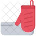 Baking Oven Glove Icon