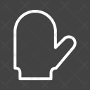 Baking Gloves Cooking Icon