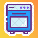 Microwave Oven Baking Oven Kitchen Appliance Icon