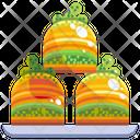 Baklava Turkey Pastry Icon