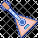 Balalaika Guitar Chordophone Icon
