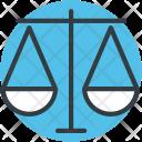 Balance Scale Judgment Icon