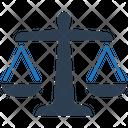Balance Court Crime Icon