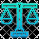 Economic Balance Ethics Money Balance Icon