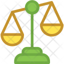Balance Law Scale Icon