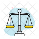 Balance Scale Weight Scale Justice Symbol Icon