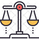 Balance Ethics Law Icon
