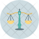 Balance Justice Concept Libra Sign Icon