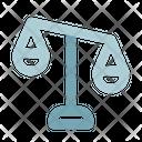 Unbalance Justice Scales Icon
