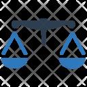 Justice Scales Balance Icon