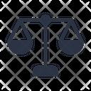 Legal Law Balance Icon