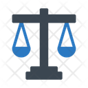 Court Law Justice Icon