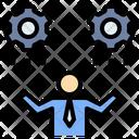 Balance Businessman Entrepreneur Icon