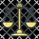 Balance Court Law Icon