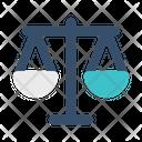 Scales Balance Law Icon
