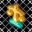 Law Lesson Isometric Icon