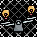 Balance Idea Choice Icon