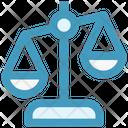 Business Law Balance Icon