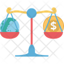 Balance Scale Equality In Business Icon