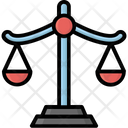 Balance Court Justice Scale Icon