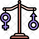 Balance Gender Equality Icon
