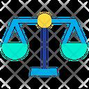 Justice Ethics Balance Icon
