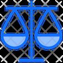 Balance Scales Justice Icon