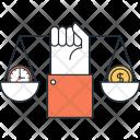 Balance Ethics Scale Icon