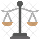 Weight Scale Balance Scale Law Scale Icon