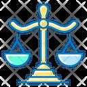 Balance Scales Law Icon
