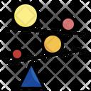 Balance Comparison Seo Icon