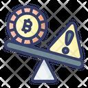 Balance Risk Money Icon