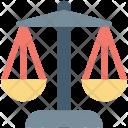 Balance Scale Court Icon