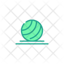 Balance Ball Yoga Ball Ball Icon