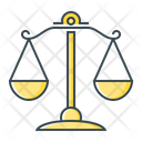 Law Scales Scales Justice Icon