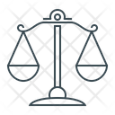 Law Scales Scales Balance Of Justice Icon