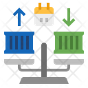 Balance Of Trade Icon