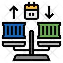 Balanceoftrade Export Import Economy Trade Icon