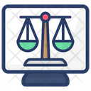 Balance Scale Justice Scale Measurement Scale Icon